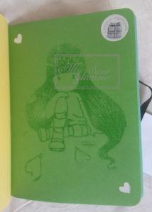 Gorjuss verde de libreta
